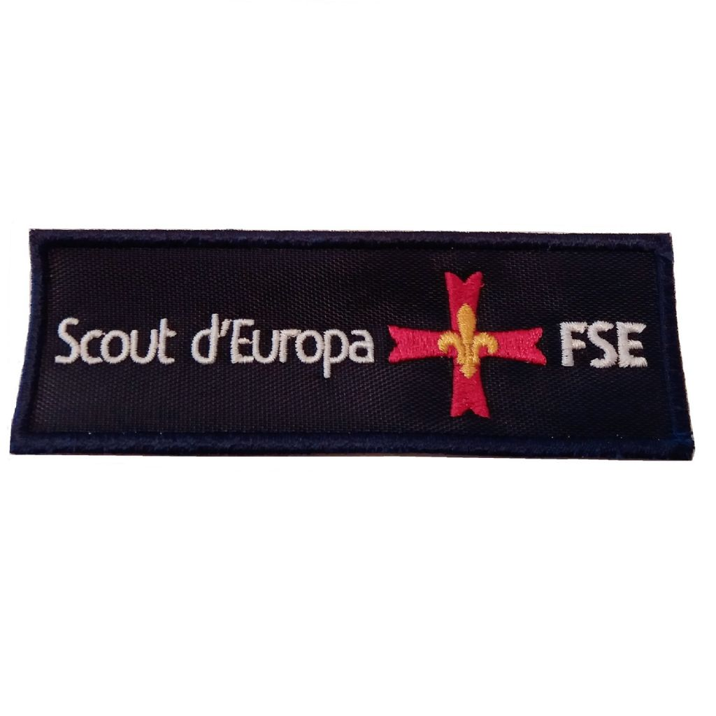 PATCH SCOUT D'EUROPA blu